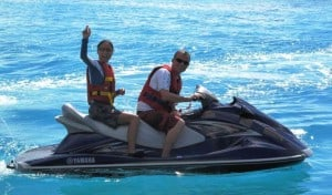 Enjoy the thrill and the beauty of the ocean by joining one of our guides on an exciting Jet Ski trip. Beautiful sun sets, crystal clear lagoons, a private visit to a sandbank or the pure nature of an uninhabited island while cruising inside the lagoons.